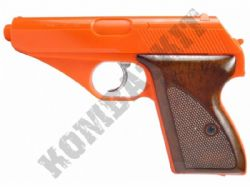 HG106 Gas Powered Airsoft BB Gun Black and Orange